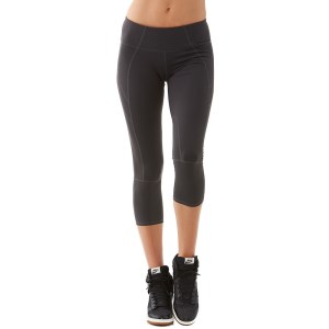 Bayse Solid Crop Womens Training Tight