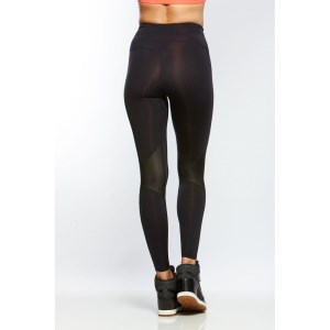 Bayse Sculpt Full Length Womens Training Tights - Black